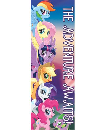 Плакат за врата Pyramid - My Little Pony Movie (The Adventure Awaits) - 1
