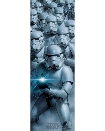 Плакат за врата Pyramid - Star Wars (Stormtroopers) - 1