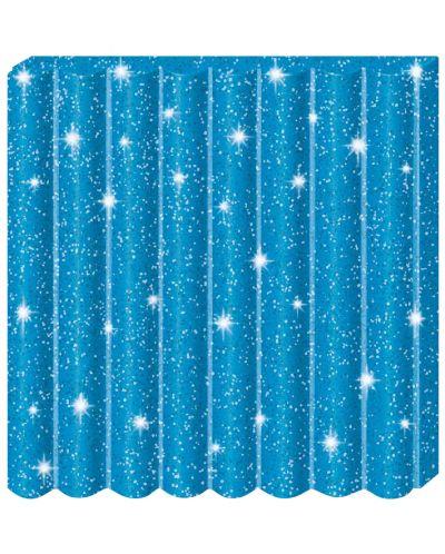 Полимерна глина Staedtler Fimo Kids - блестящ син цвят - 2