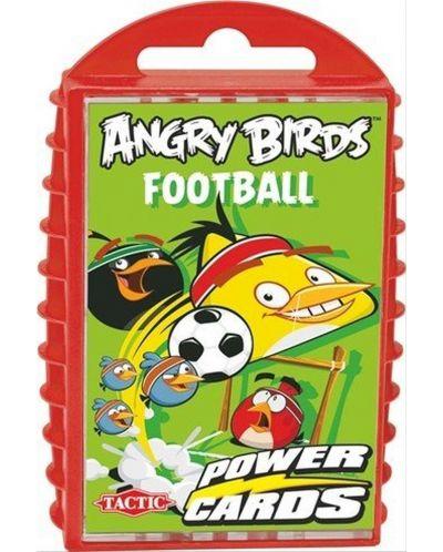 Детска игра с карти Tactic - Angry Birds, футбол - 1