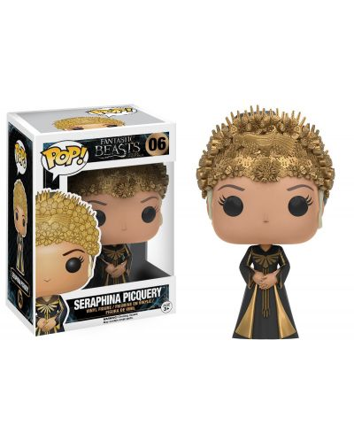 Фигура Funko Pop! Movies: Fantastic Beasts and Where to Find Them - Seraphina Picqery, #06 - 2