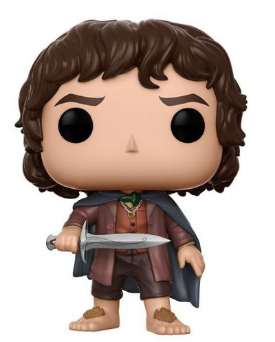 Фигура Funko Pop! Movies: The Lord of the Rings - Frodo Baggins, #444 - 1
