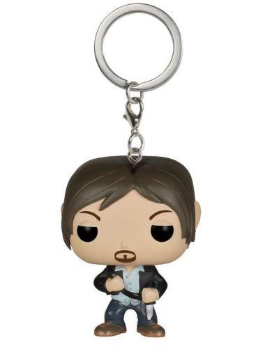 Ключодържател Funko Pocket Pop! Television: The Walking Dead - Daryl Dixon, 4 cm - 1