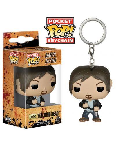 Ключодържател Funko Pocket Pop! Television: The Walking Dead - Daryl Dixon, 4 cm - 2