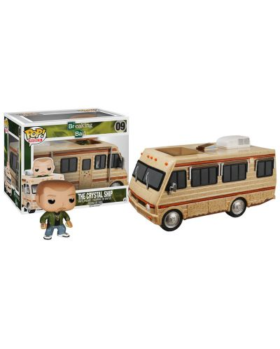 Фигура Funko Pop! Rides: Breaking Bad - The Crystal Ship, #09 - 2