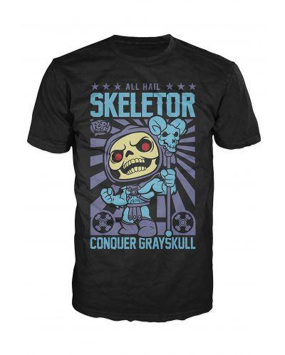 Тениска Funko Pop! All Hail Skeletor, черна - 1