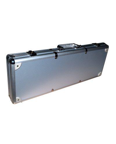 Алуминиево куфарче с 500 Caeser Preimum покер чипа - 2