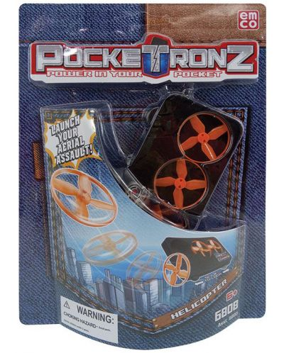Детска джобна игра PockeTronz - Хеликоптер - 1