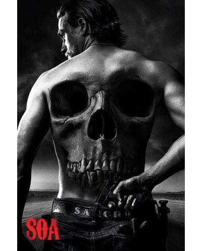Макси плакат Pyramid - Sons of Anarchy: Skull - 1