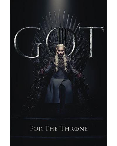 Макси плакат Pyramid - Game of Thrones (Daenerys For The Throne) - 1