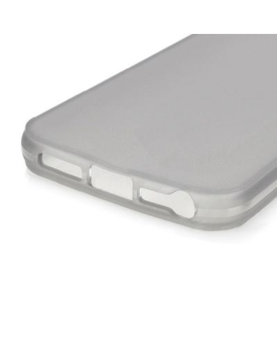 Protective Translucent TPU Case за iPhone 5 -  сив-прозрачен - 3