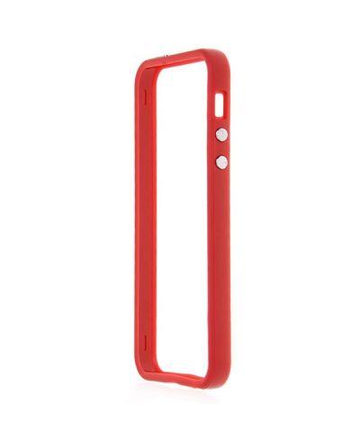 Protective Ultraslim Bumper за iPhone 5 -  червен - 3