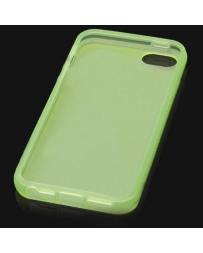 Protective Translucent TPU Case за iPhone 5 -  зелен - 4