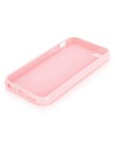 Protective TPU Case за iPhone 5 -  розов - 2