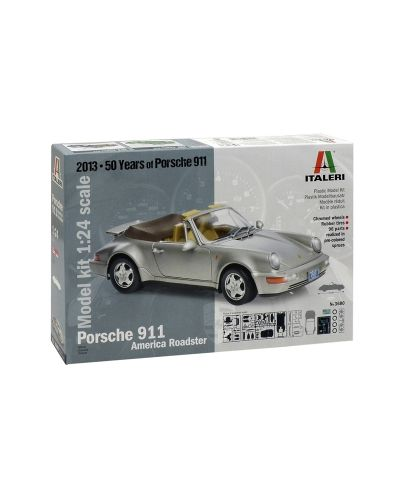 Авто-модел ITALERI Porsche 911 America Roadster 1:24 - 1