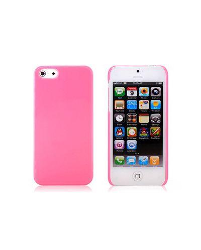 Protective Plastic Case за iPhone 5 -  розов - 1