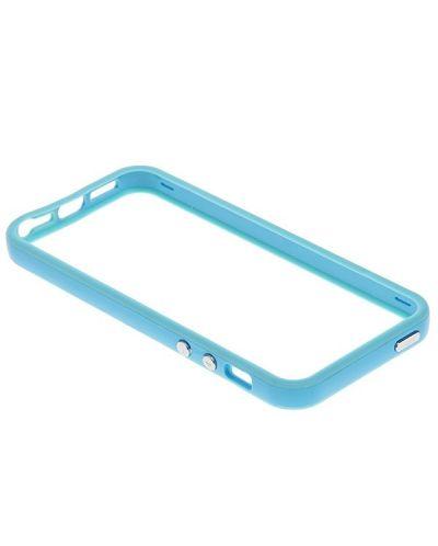 Protective Ultraslim Bumper за iPhone 5 -  светлосин - 2