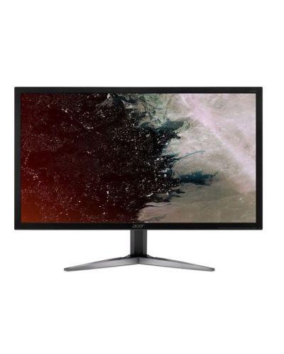 """Геймърски монитор Acer - KG251Qbmiix, 24.5"""", FHD, TN, 1ms, 75Hz, FreeSync, черен - 1"""