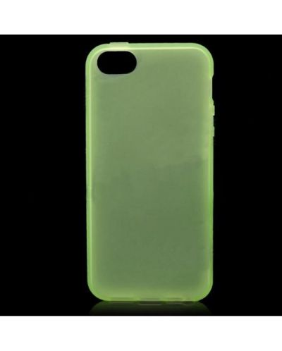 Protective Translucent TPU Case за iPhone 5 -  зелен - 1