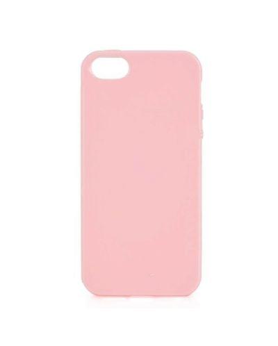 Protective TPU Case за iPhone 5 -  розов - 1
