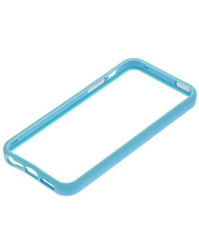 Protective Ultraslim Bumper за iPhone 5 -  светлосин - 3