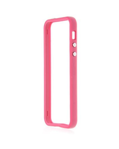 Protective Ultraslim Bumper за iPhone 5 -  розов - 2