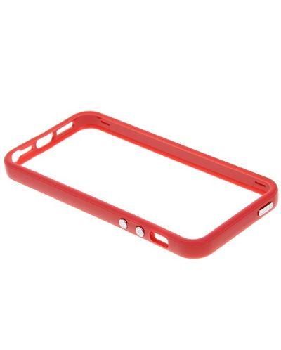 Protective Ultraslim Bumper за iPhone 5 -  червен - 2