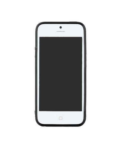 Protective TPU Case за iPhone 5 -  черен - 2