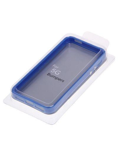 Protective Ultraslim Bumper за iPhone 5 -  син - 5