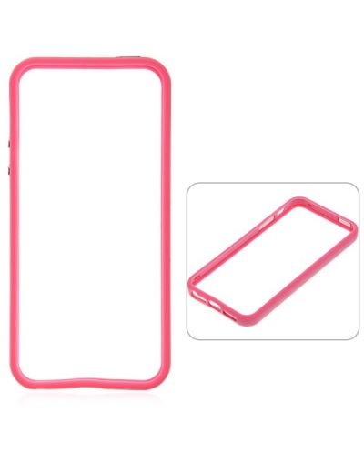 Protective Ultraslim Bumper за iPhone 5 -  розов - 1