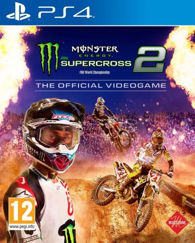 Monster Energy Supercross - The Official Videogame 2 (PS4) - 1