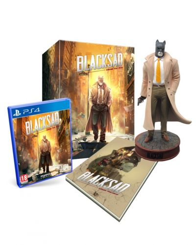 Blacksad: Under the Skin Collector's Edition (PS4) - 1