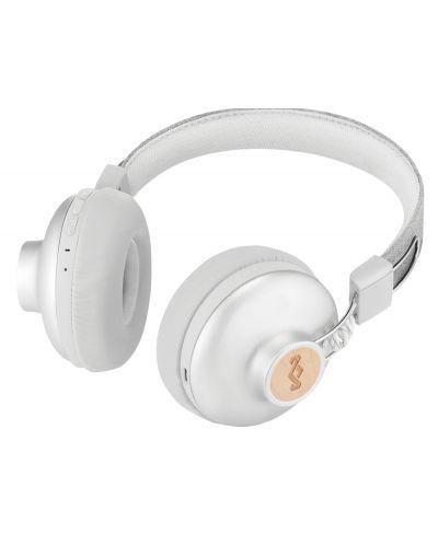 Безжични слушалки House of Marley - Positive Vibration 2, сребристи - 4