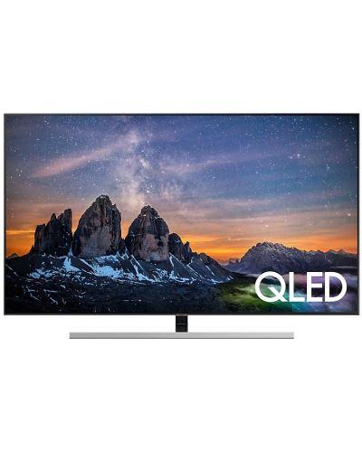 """Смарт телевизор Samsung 55Q80 - 55"""", QLED, QHDR - 1"""
