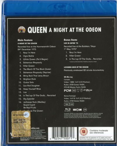 Queen - A Night At The Odeon (Blu-Ray) - 2