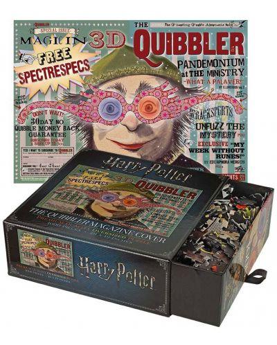 Панорамен пъзел Harry Potter от 1000 части - Списанието The Quibbler - 1