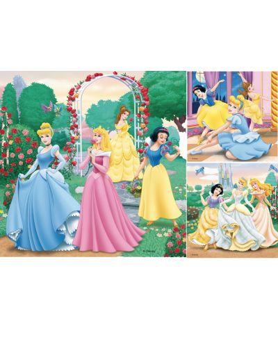 Пъзели Ravensburger 3 от 49 части - Забавление с Дисни Принцеси - 3
