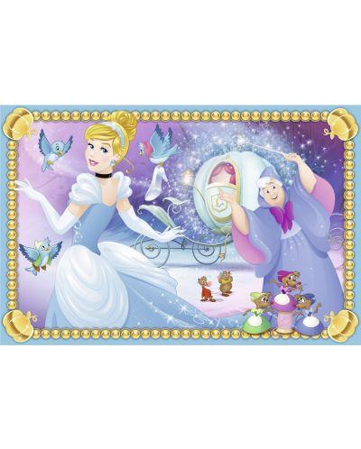 Пъзел с кубчета Ravensburger от 6 части - Дисни принцеси - 8