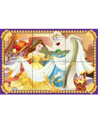 Пъзел с кубчета Ravensburger от 6 части - Дисни принцеси - 7