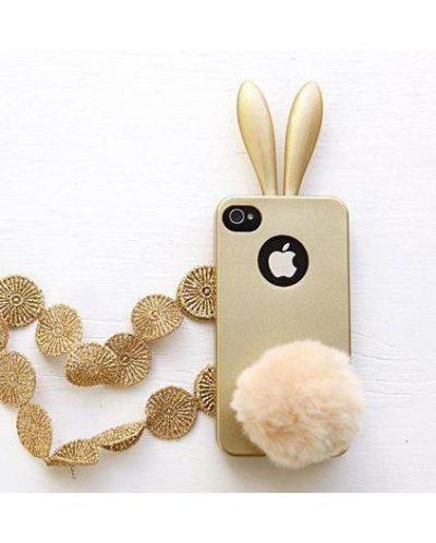 Rabito Bunny Case за iPhone 5 -  златист - 2