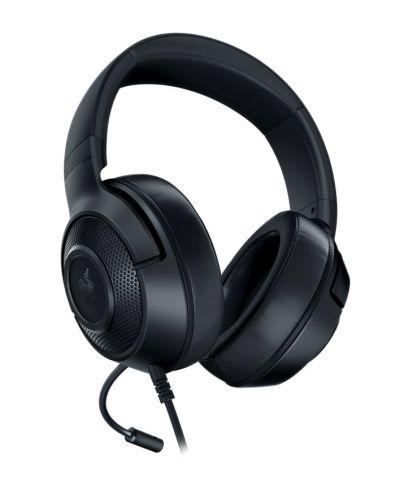 Гейминг слушалки Razer - Kraken X Lite, 7.1, черни - 4