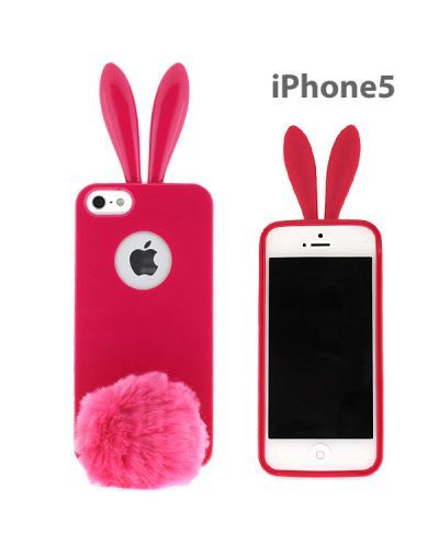 Rabito Bunny Case за iPhone 5 -  розов - 1