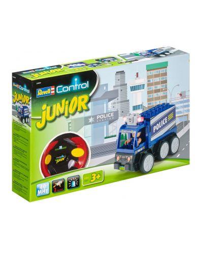 Радиоуправляем автомобил Revell Junior - Полицейски камион - 1