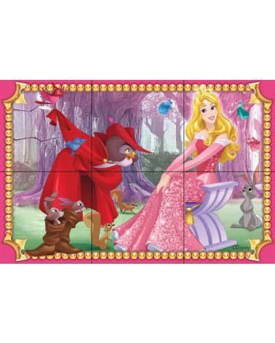 Пъзел с кубчета Ravensburger от 6 части - Дисни принцеси - 5