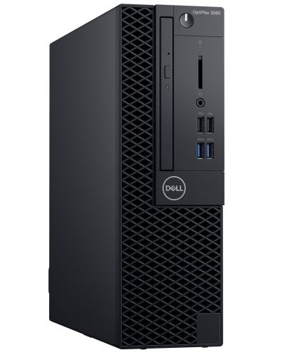Настолен компютър Dell OptiPlex - 3060SFF, TPM, черен - 1