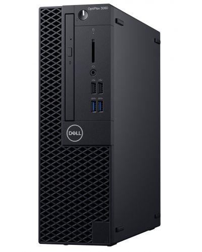 Настолен компютър Dell OptiPlex - 3060SFF, TPM, черен - 2