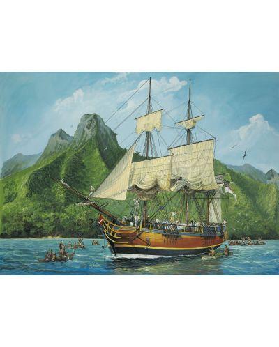 Сглобяем модел на ветроходен кораб Revell - H.M.S. Bounty (05713) - 2