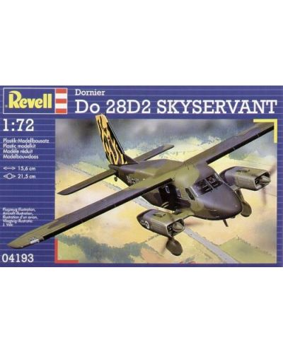 Сглобяем модел на военен самолет Revell - Dornier Do-28 (04193) - 7