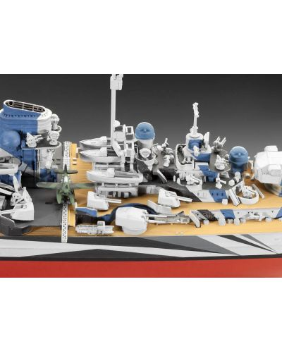 Сглобяем модел на военен кораб Revell - Battleship TIRPITZ (05099) - 4