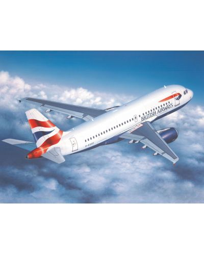 Сглобяем модел на самолет Revell - Airbus A 319 (04215) - 2